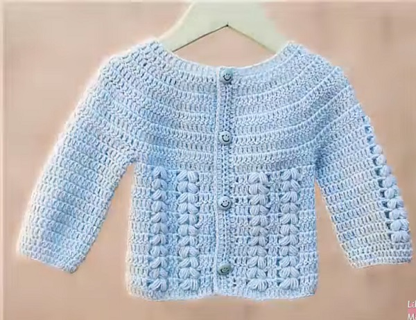 Abrigo Para Bebé Tejido A Crochet Entre Y Disfrute Tutoriales